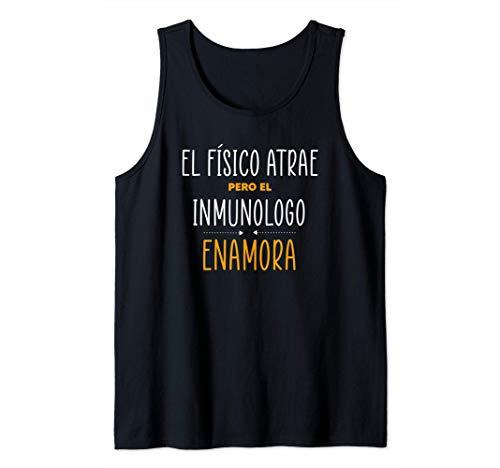 Regalos para INMUNOLOGOS - PERO EL INMUNOLOGO Enamora Camiseta sin Mangas