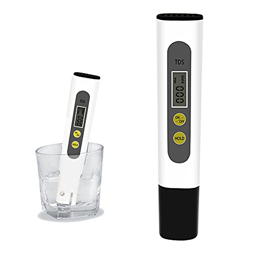 TDS Tester, TDS Meter Tester LCD Pen Quality with 0-9990 PPM...