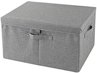 Lpiotyucwh Paniers et Boîtes De Rangement, Boîte à bacs de Rangement de vêtements, 1pcs Tissu de Linge Pliable conteneur d...