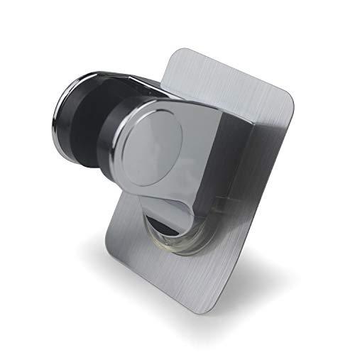 YUSHIBO Handbrause Halterung Ohne Bohren 3M Kleber Winkel Verstellbar Brausehalter Duschhalterung, Super Power
