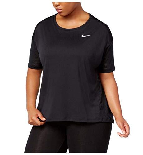 Nike Women's Plus Dri-Fit Miler Running Shirt