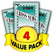 Dell Cross Sums Number Problems-4 Pack