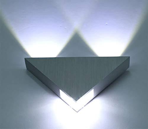 Z.H.A.O Lampada da Parete a LED 5W, Luci Decorative da Muro Forma Triangolare, Applique per Bagno Stile Moderno Applique da Parete Interni Corridoio Camera da Letto Cucina Bar caffè Ristorante