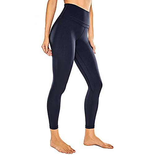 BIBOKAOKE Sport Leggings Damen lang Yogahose High Waist Sporthose Blickdicht Sportleggins Laufhose Sweathose Fitness Trainingshose Yoga Leggings Jogginghose Stretchhose