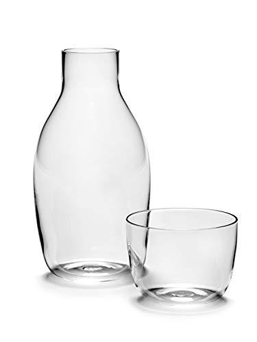 Serax Karaffe (75CL) and Glas (20CL) Set von Vincent Van Duysen