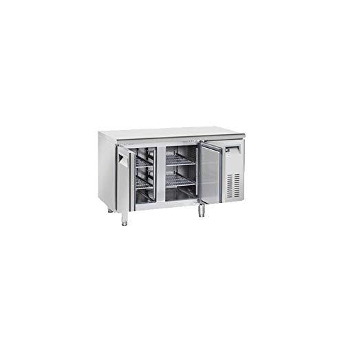 Table Réfrigérée Négative avec Dosseret 2 Portes - Profondeur 600 - Cool Head - 600