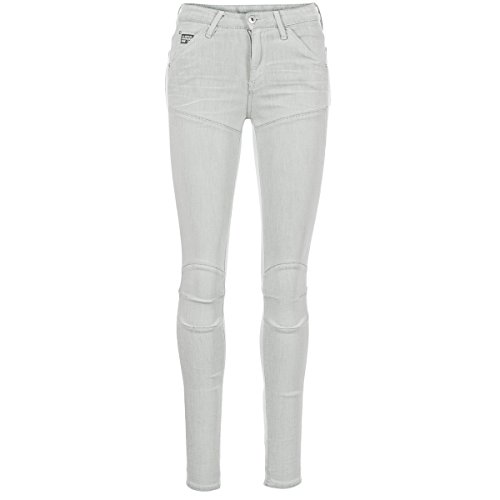G-STAR RAW 5621 Ultra High Super Skinny WMN Vaqueros Mujeres Gris -...
