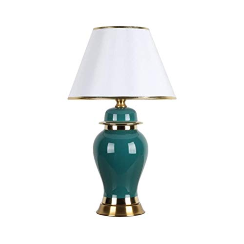 DYXYH Art Deco Table Lamp,Modern Home Decoration ,Ceramic Lamp Body, Suitable for Living Room, Bedroom, Hall