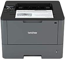 Brother HLL5100DN Stampante Laser Bianco e Nero, Velocità di Stampa 40 ppm, Stampa Fronte / Retro Automatica, Scheda di...