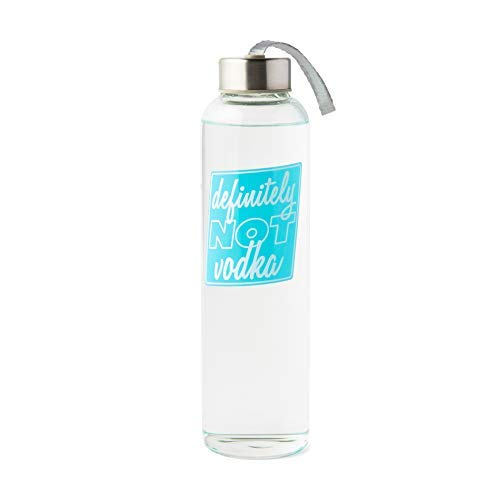 BigMouth Inc Water Bottle That Reads Definitely Not Vodka - Perfect for Home or Office, Makes a Great Gift