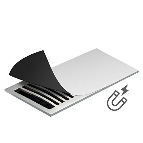 """Tonhui 5.5"""" x 11.8"""" Extra Magnetic Floor 3 Pack Vent Covers Stronger Magnet for Floor Air Registers for RV, Home HVAC, AC and Furnace Vents (Not for Ceiling Vents)"""