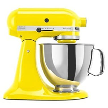 KitchenAid Artisan 5-Quart Stand Mixers (YELLOW CITRUS)