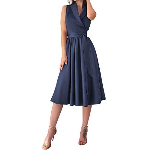 Vectry Vestidos Casual De Mujer Vestidos para Comunion Mujer Vestidos Elegantes De Mujer Vestidos Largos Casual Verano Moda Mujer 2019 Vestidos De Fiesta Vestidos De Coctel Falda