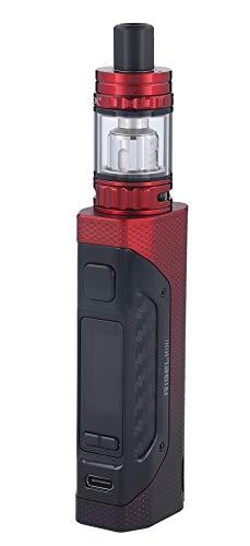 SMOK Rigel Mini E Zigaretten Set, 80W TFV9 Mini Clearomizer, Schwarz-rot