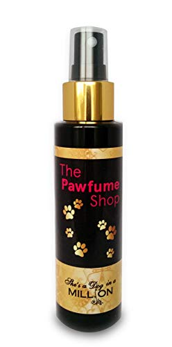 The Pawfume Shop hondenspray met opschrift