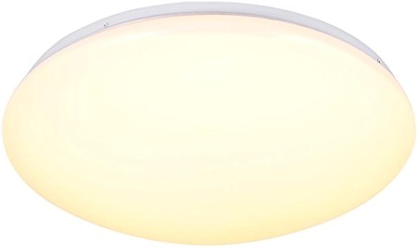 MEIHOME Plafonniers 48CM LED 36W Lumière blanc Lampe de Plafond pour chambre à coucher salle de séjour salle de bain