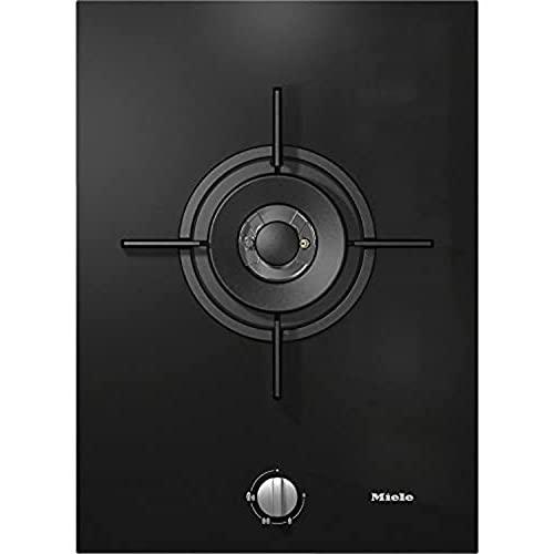 Elemento cocina de gas Combidet SmartLine con un quemador Dual-Wok modelo CS 7101-1 FL, color negro, 52 x 37,8 x 92 centímetros (referencia: Miele 27710150E)