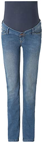 Noppies Jeans OTB Regular Beau 60044 Premaman, Blu (Mid Blue C300), 27W x 32L Donna