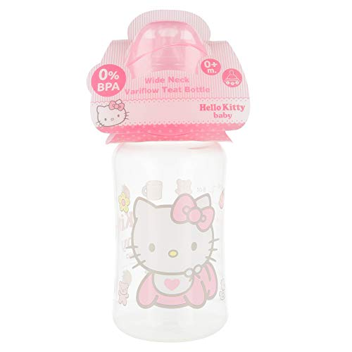 Hello Kitty 1703496031 Teat 3 Positions - biber贸n de 250 ml