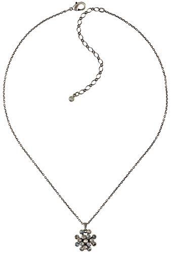 Konplott Magic Fireball Mini Necklace Pendant -white mini antique silver-5450543754987