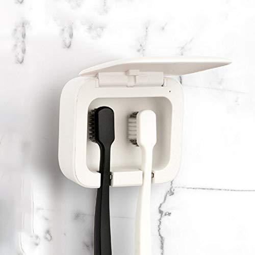IJNUHB UV-tandenborstel sterilisator houder houder voor elektrische opslag auto gemonteerd aan de muur voor badkamer kinderen antibacterieel
