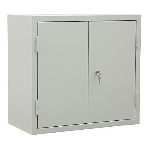 STIER Hängeschrank für Werkstatt | mit 2 Schubladen | lichtgrau | HxBxT 600x650x320mm | mit...