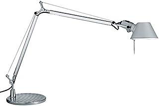 Artemide Tolomeo A001000 - Lámpara de mesa de aluminio gris con base de 23 cm