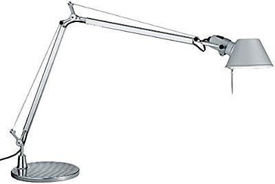 Artemide Tolomeo Alluminium Grey Table Lamp Base 23 cm A001000