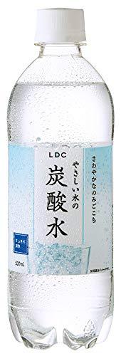LDC やさしい水の炭酸水 プレーン 500ml×24本