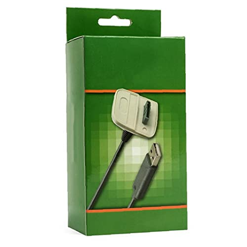 Controlador inalámbrico Cargador de cable de carga USB para Microsoft Xbox 360...
