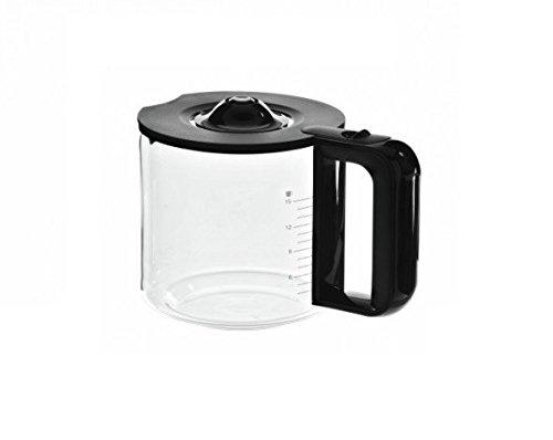 Bosch - Jarra de cristal y plástico para cafeteras TC80104 / TC86303 / TC86304, color negro
