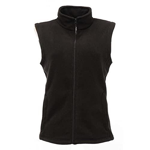 Regatta WomensLadies Micro Fleece Bodywarmer Gilet 10 Black