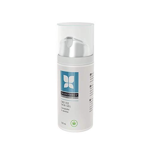 NEOBOTANICS® NANO CBD Ice Skin Schmerzgel. Kühlend mit Cannabidiol bei Muskelkater & Sportverletzungen, reduziert Schwellungen bzw. Entzündungen, Arthrose, Verstauchungen, Muskel- und Gelenkschmerzen