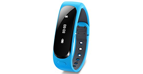 Huawei TalkBand B1 (Curved OLED-Display, 90 mAh Akku, Bluetooth) blau