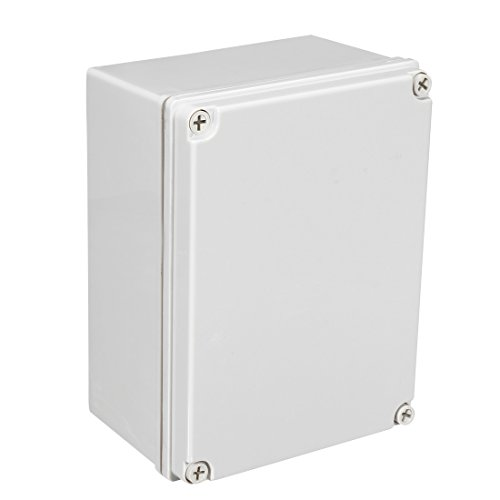 sourcing map 200 * 150 * 100mm Elektro ABS Plastik DIY Junktion Box geschlossen Deckel
