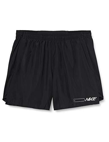 Nike Air Challenger 7in BF Shorts, Pantaloncini da Bagno Uomo, Nero (Black/Reflective Silv), (Taglia Produttore: XX-Large)