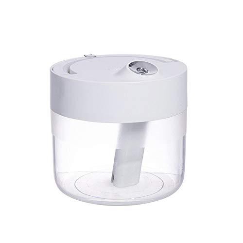 XINGBAO Umidificatore Camera, Ultrasuoni Umidificatore Diffusore, Purificatore d'Aria Wireless Piccolo Multifunzionale,White(Rechargeable)