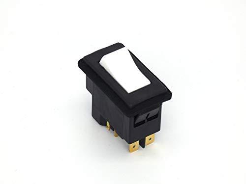 Interruptor empotrable, interruptor de tensión cero, interruptor de protección de máquina con activación bajo voltaje TP3251 230 V/50 Hz, balancín, bobina ejecutada.