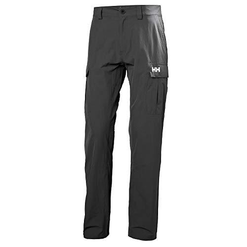 Helly Hansen HH Secado Rápido Softshell Pantalones de Carga, Hombre, Ebony, 33' W