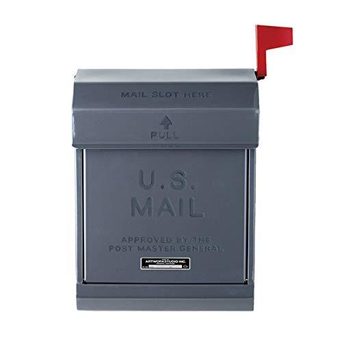 ART WORK STUDIO メールボックス2 U.S. Mail box 2 [ ダークグレー / TK-2078 ]
