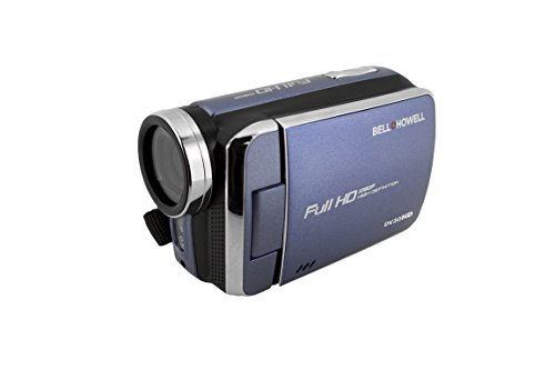 """Bell+Howell DV30HD-BL HD Video Camera with 3"""" Touchscreen (Blue)"""