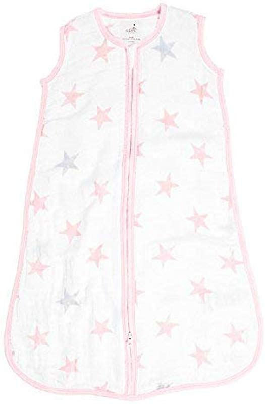 Aden By Aden Anais Classic Sleeping Bag 100 Cotton Muslin Wearable Baby Blanket Doll Stars Small 0 6 Months