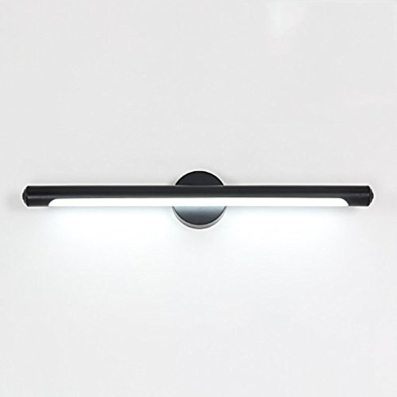 EU15 LED-Badezimmer wasserdichter Nebel-Antimetall-EitelkeitBadezubehr (Farbe   Weiß Light-12w 62cm)
