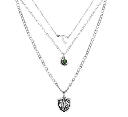 pretty.lovable.mishmash Vampire Diaries 3 Halskette Set Hope Mikaelson Anhänger Legacies | Vampire Diaries Schmuck Geschenke Zubehör