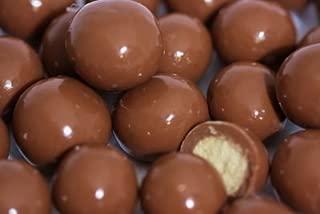 BAYSIDE CANDY Milk Chocolate Malt Balls, 3LBS