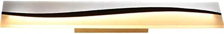 Wandleuchte Moderne LED Badezimmerspiegel Licht Wasserdicht Nebel Wandleuchte Elegantes Badezimmer Lampe Spiegel Licht, Weies Licht + Warmes Licht (Gre   40cm)