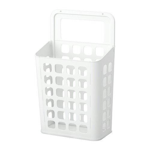 Ikea VARIERA - Cubo de la Basura, Blanco - 10 l