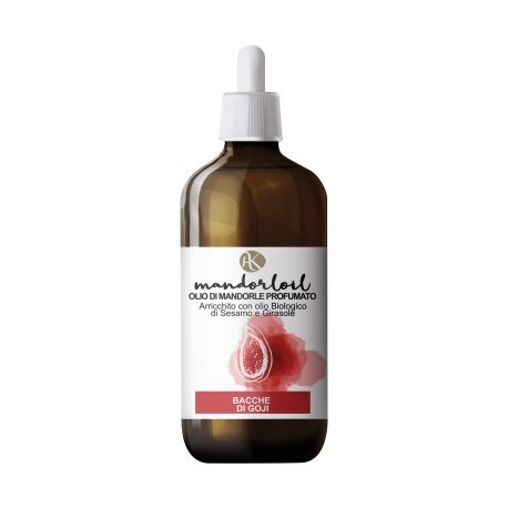 ALKEMILLA - Huile d'amande douce parfumée - Baies de Goji - Bio - Nichel Tested - 250 ml