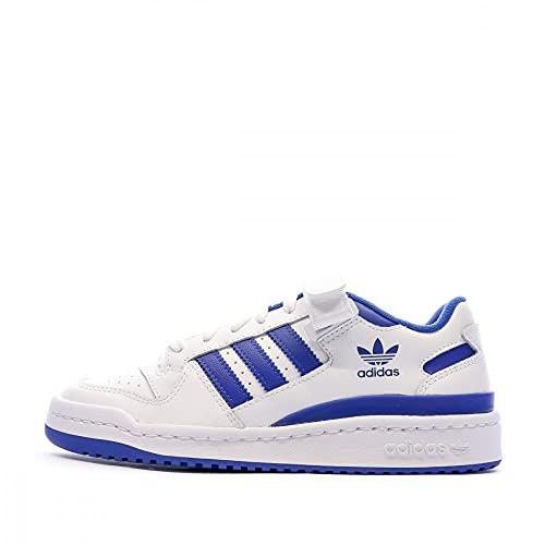 adidas Forum Low J, Basket, FTWR White Team Royal Blue FTWR White, 37 1/3 EU