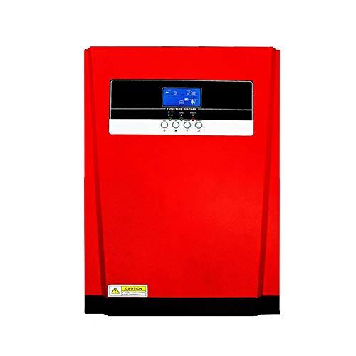 ZBF 3200W Pure Sine Wave Inverter Hybrid Solar MPPT 80A Cargador de Panel Solar y Cargador de CA Todo en un Controlador de Carga Solar de 230VAC (Input Voltage : 24V, Output Voltage : 230V)